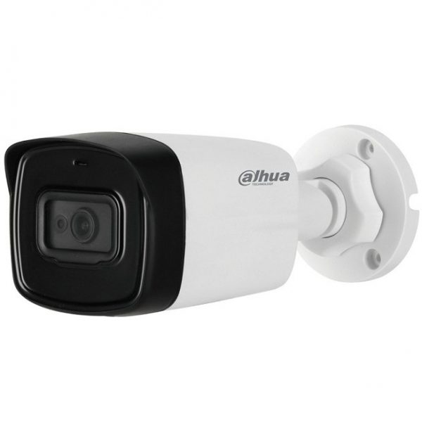 Dahua HAC-HFW1239TLMP-A-LED 2MP HDCVI Full Color IR Bullet Camera with Audio