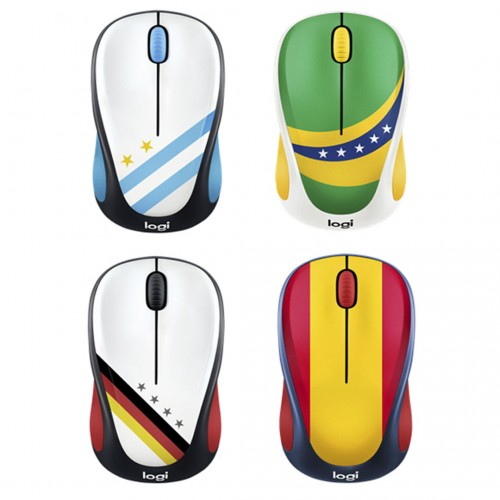 Logitech M238 WORLD CUP Themed Wireless Mouse