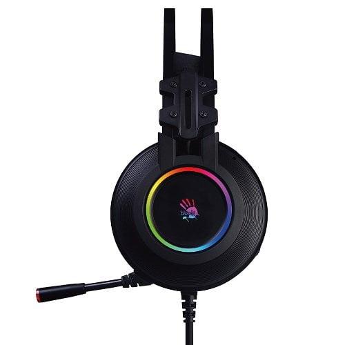 A4tech Bloody G528 USB RGB 7.1 Gaming Headphone Black