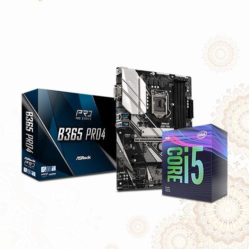 Asrock B365 Pro4 and 9th Gen Core i5 Boishakhi Combo 3