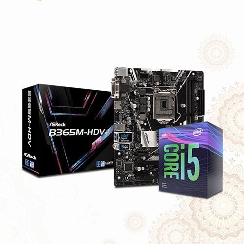 Asrock B365M-HDV and 9th Gen Core i5 Boishakhi Combo 1