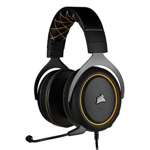 Corsair HS60 Pro 3.5mm Gaming Headphone (Yellow)