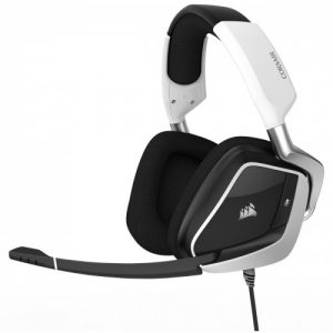 Corsair Void Elite RGB Premium 7.1 USB Gaming Headphone (White)