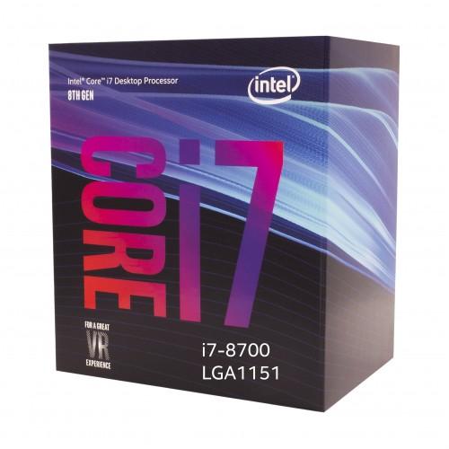 Intel 8th Generation Core i7-8700 Processor