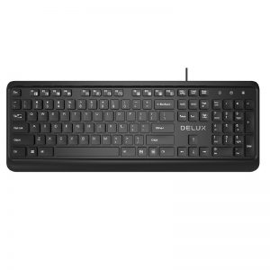 DELUX KA190U USB-BANGLA MULTIMEDIA KEYBOARD
