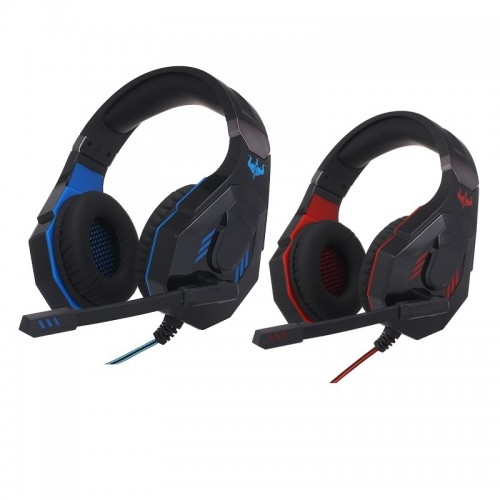 Ovleng Q10 USB Virtual 7.1 Wired LED Lighting Gaming Headphone for Cross Platform