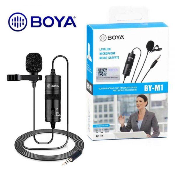 Boya BY-M1 Omnidirectional Lavalier Microphone (Original)